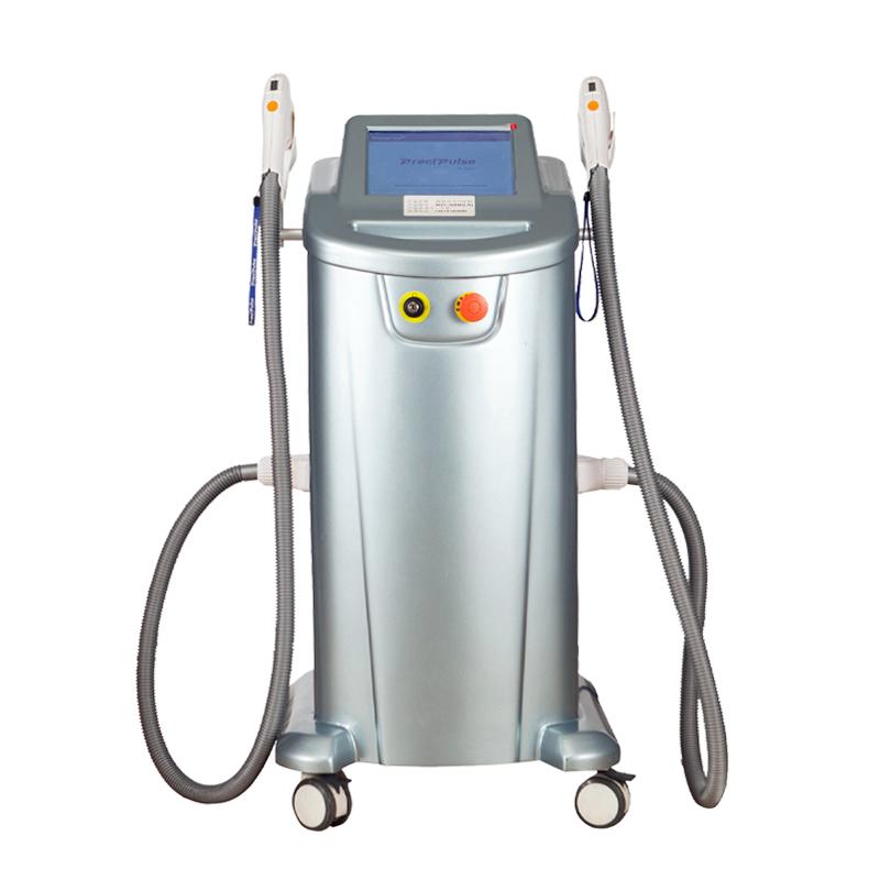Vertical Preci-pulse IPL Therapy Systerm SHR Skin Rejuvenation Hair Removal Machine
