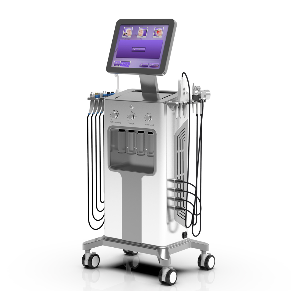 9 in 1 hydra beauty skin system Hydro dermabrasionand Hydra Microdermabraision Machine